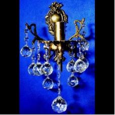 Бра Бронзовая 1 лампа №2
