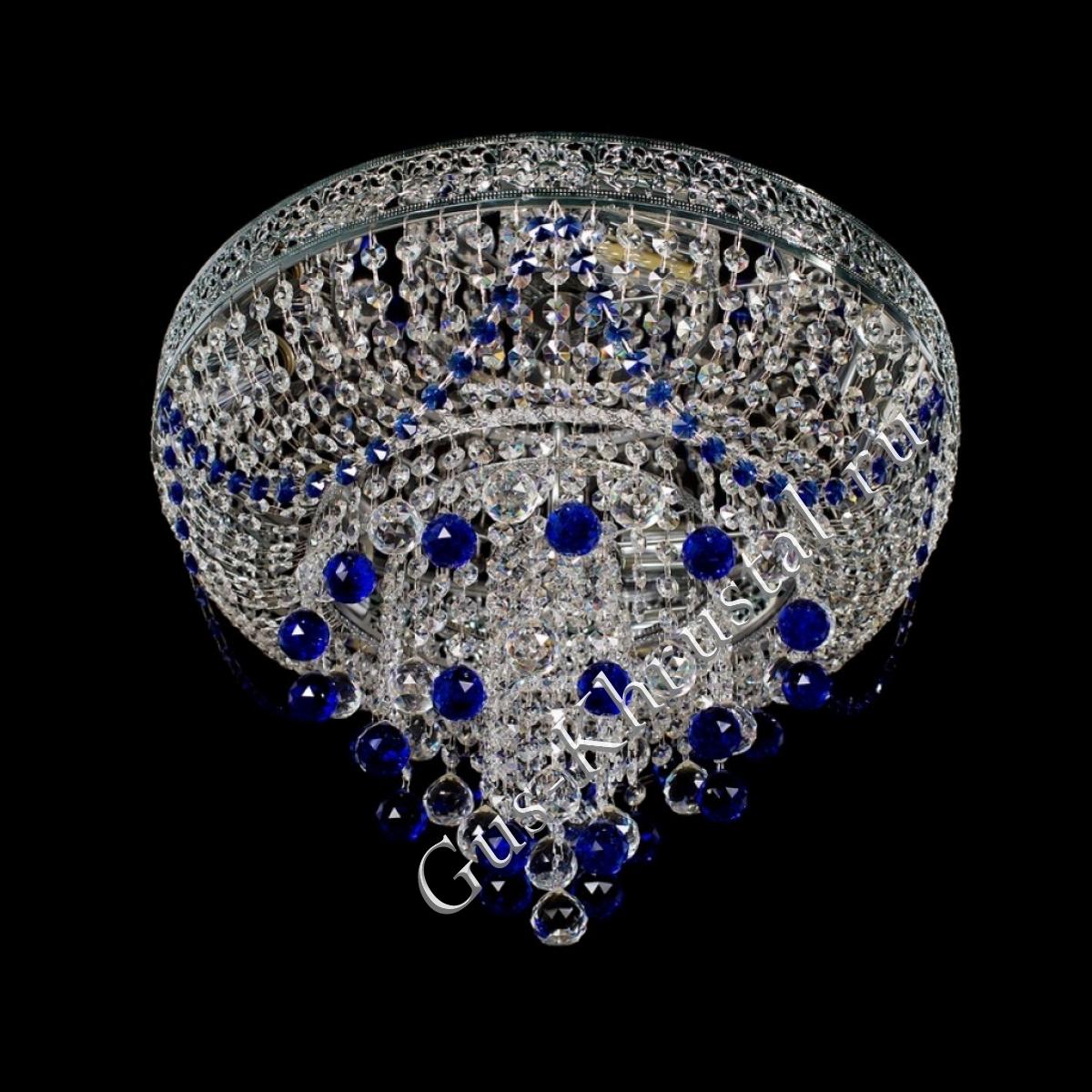 Люстра Версаль 010 синяя