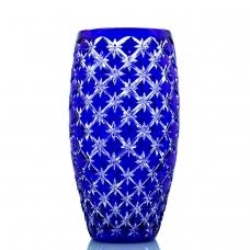 Ваза Хрустальная Для Цветов Синяя 4